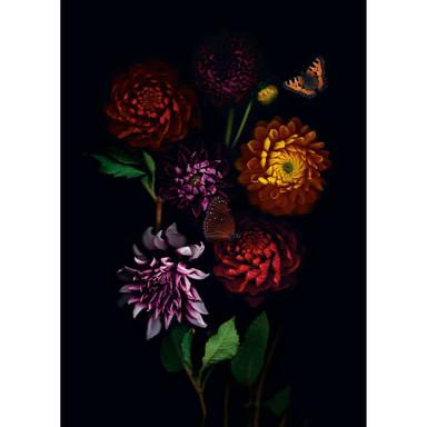 Leinwandbild Blumenkompistionen