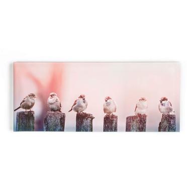 Leinwandbild EARLY MORNING TWEEDS - Bild 1