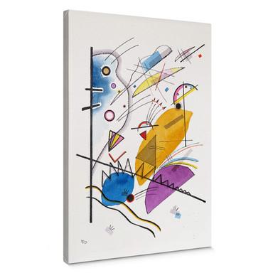 Leinwandbild Kandinsky - Durchgehender Strich
