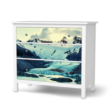 Möbelfolie IKEA Hemnes Kommode 3 Schubladen - Patagonia