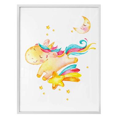 Poster Shiny the Unicorn