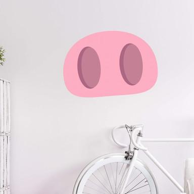 Wandtattoo Emoji Pig Nose