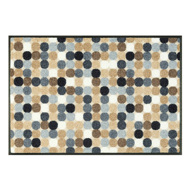 Wash&Dry Decor Fussmatte Mikado Dots nature 50x75cm
