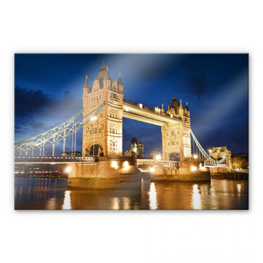 Acrylglasbild Tower Bridge in London