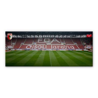 Alu-Dibond Bild FC Augsburg Stadion Tribüne Panorama