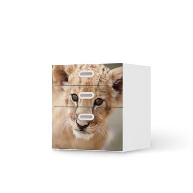 Folie IKEA Stuva / Fritids Kommode - 3 Schubladen - Simba- Bild 1