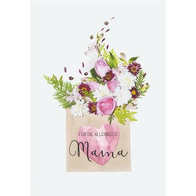 Gutschein Muttertag - Blumengruss
