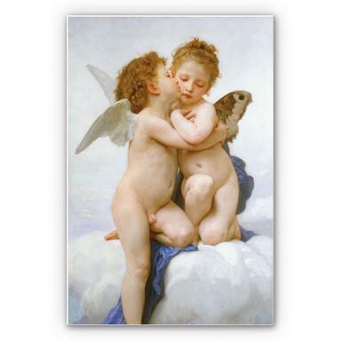 Hartschaumbild Bouguereau - Der erste Kuss