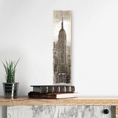 Holzschild The Empire State Building - Bild 1