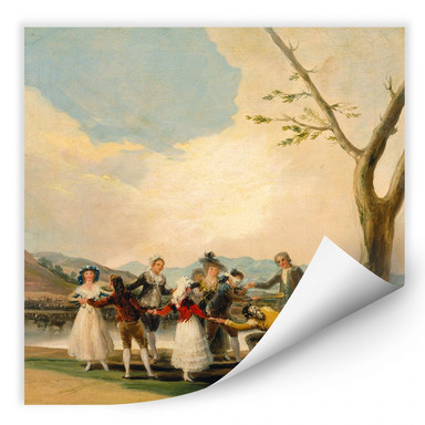 Wallprint de Goya - Das Blindekuhspiel
