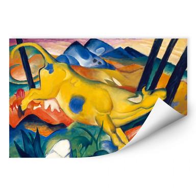 Wallprint Marc - Die gelbe Kuh