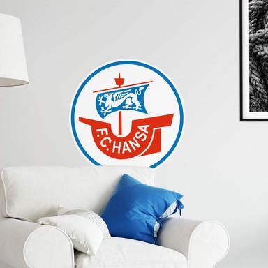 Wandsticker Hansa Rostock Logo