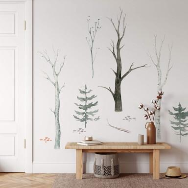 Wandtattoo Kvilis - Wald Set (10-teilig) - 120x120cm - Bild 1
