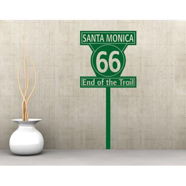 Wandtattoo Santa Monica