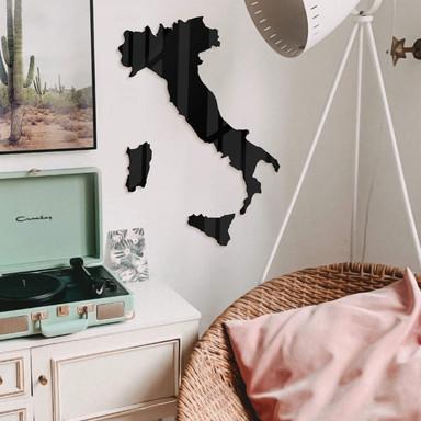 Acryldeko Karte Italien