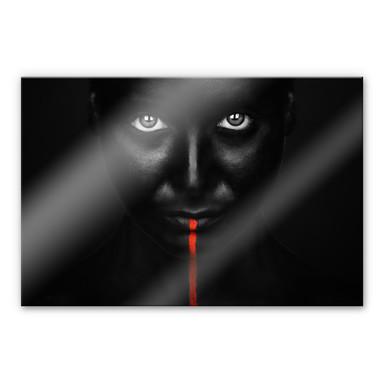 Acrylglasbild Petkov - Red Stripe