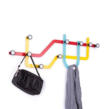 Farbige Garderobe Subway - Bild 1