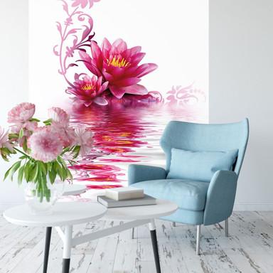 Fototapete Blütenzauber - 144x260cm - Bild 1