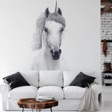 Fototapete Korenkova - White unicorn