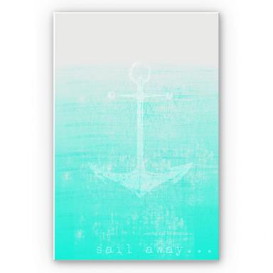 Hartschaumbild Sail away