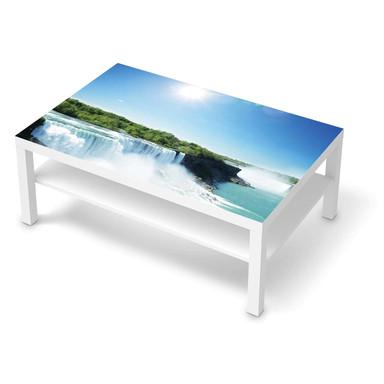 Klebefolie IKEA Lack Tisch 118x78cm - Niagara Falls- Bild 1