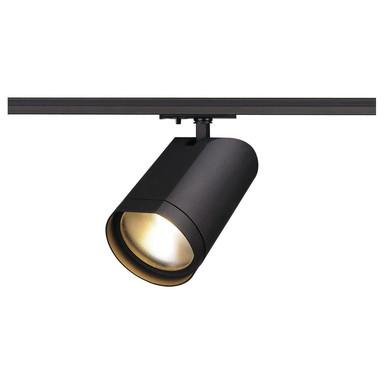 LED Spot für 1Phasen-Stromschiene Bilas, schwarz, 60°