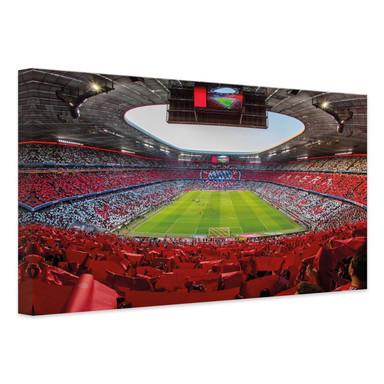 Leinwandbild FCB Stadion Rot Weiss