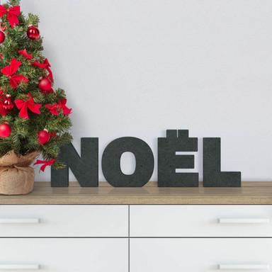 MDF-Holzbuchstaben Noël