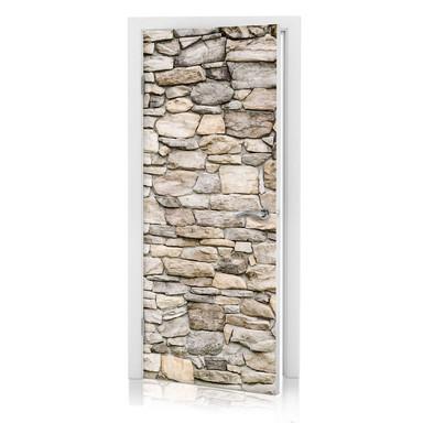 Türdesign - Steinmauer