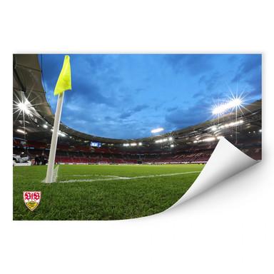 Wallprint VfB Stuttgart Arena Nacht