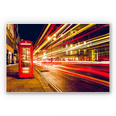 Wandbild London City Lights