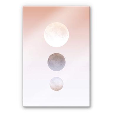 Acrylglasbild Hariri - Moon Triplet