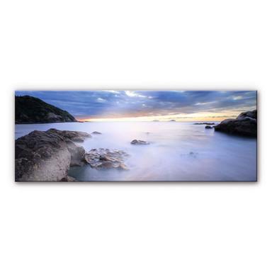 Acrylglasbild Meeresbucht - Panorama