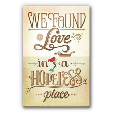 Acrylglasbild Tohmé - We found Love