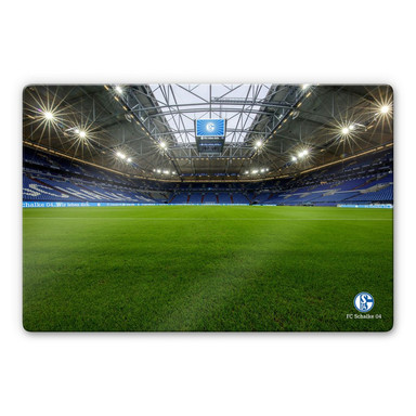 Glasbild - Schalke 04 - Arena 03 Innen