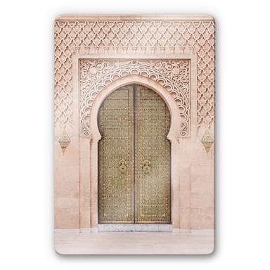 Glasbild Sisi & Seb - Moroccan Door