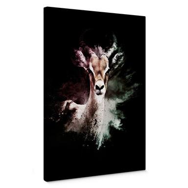 Leinwandbild Hugonnard - Wild Explosion: Antilope