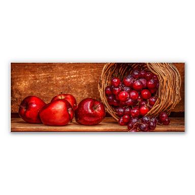 Wandbild Perfoncio - Rote Früchte - Panorama