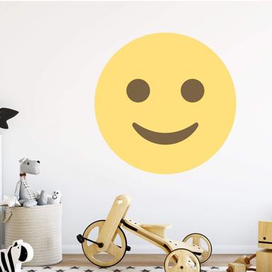 Wandtattoo Emoji Smiling Face