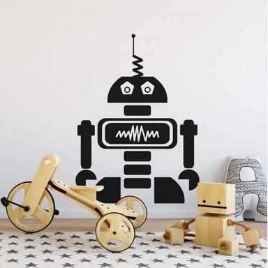 Wandtattoo Roboter Ray