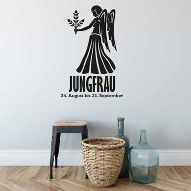Wandtattoo Sternzeichen - Jungfrau