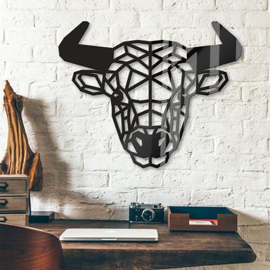 Acryldeko Origami Stier