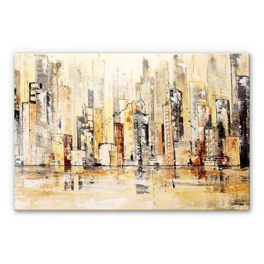 Acrylglasbild Fedrau - Meine Stadt