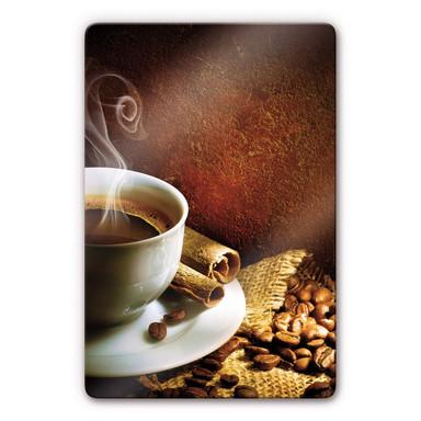 Glasbild Coffee 1