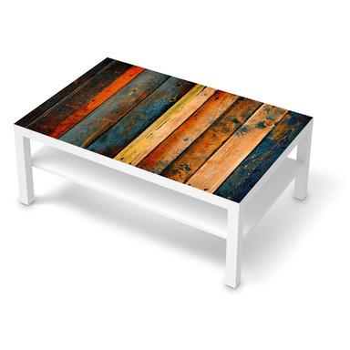 Klebefolie IKEA Lack Tisch 118x78cm - Wooden- Bild 1
