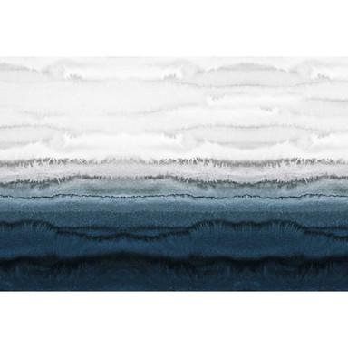 Livingwalls Fototapete ARTist Within the Tides Gezeiten blau, grau, weiss - Bild 1