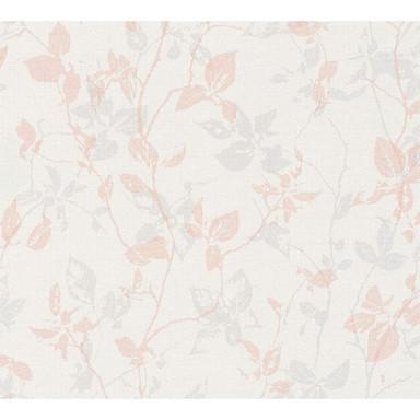 Livingwalls Vliestapete Hygge creme, grau, rosa