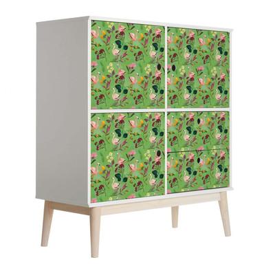 Möbelfolie Blanz - Flamingo