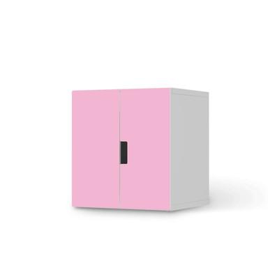 Möbelfolie IKEA Stuva / Malad Schrank - 2 kleine Türen - Pink Light
