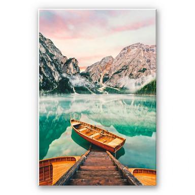 Wandbild Lago di Braies